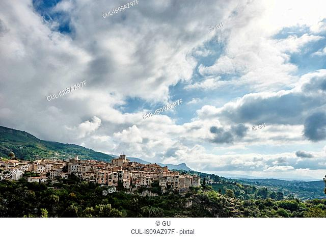 View of Tourrettes-sur-Loup, Alpes Maritimes, France