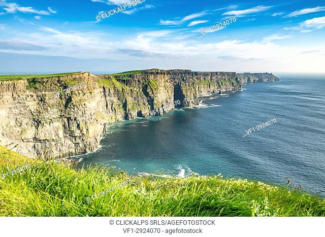 Cliffs of Moher, Liscannor, Co. Clare, Munster province, Ireland