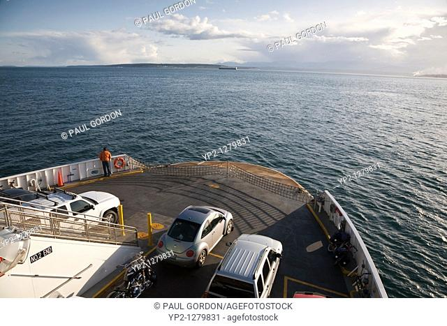 Passenger Ferry on Puget Sound, Port Townsend to Keystone Ferry