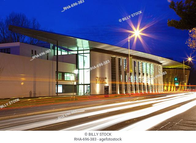 Royal Welsh College of Music and Drama Building, Cardiff, South Wales, Wales, United Kingdom, Europe