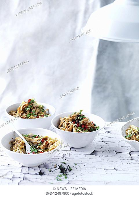Korean Barbecue chicken fried rice