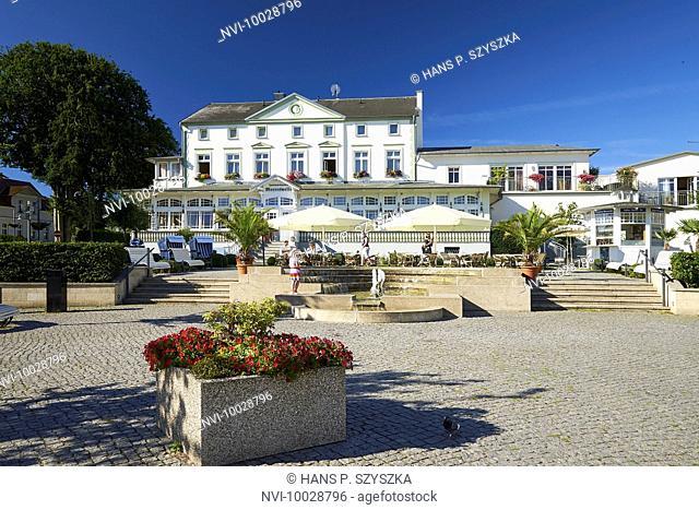 Restaurant Meereswelle in Ahlbeck, Usedom, Mecklenburg Western Pomerania, Germany