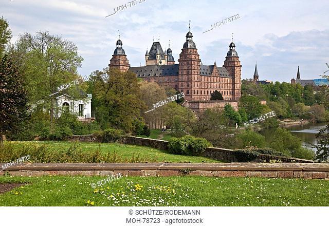 Aschaffenburg, Schloß Johannisburg, erbaut 1605-14 von Georg Riedinger