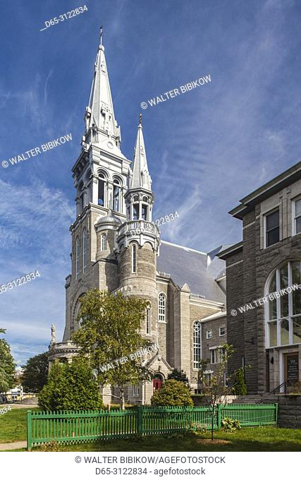 Canada, Quebec, The Laurentians, Saint Jerome, Saint Jerome Cathedral, exterior