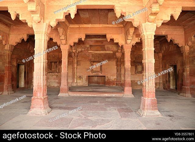 Jodha Bai Palace, Fatehpur Sikri, near Agra, Uttar Pradesh, India