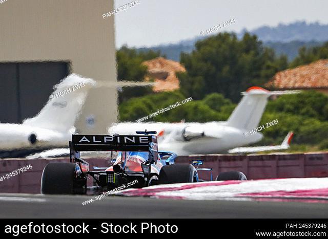# 14 Fernando Alonso (ESP, Alpine F1 Team), F1 Grand Prix of France at Circuit Paul Ricard on June 18, 2021 in Le Castellet, France