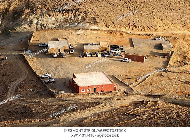Refuge du Assekrem, Hoggar, Ahaggar Mountains, Wilaya Tamanrasset, Algeria, Sahara, North Africa