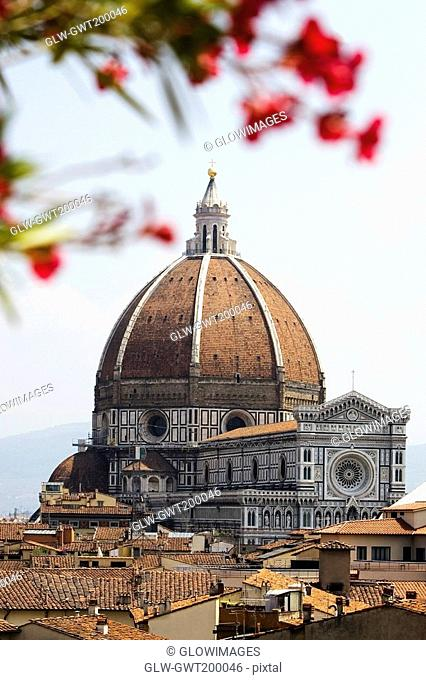 Cathedral in a city, Duomo Santa Maria Del Fiore, Florence, Tuscany, Italy