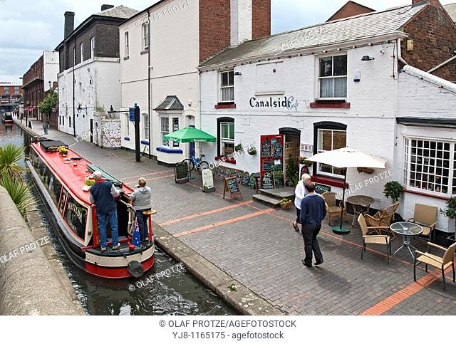Gas Street Basin is a canal basin in the centre of Birmingham, England, where the Worcester and Birmingham Canal meets the BCN Main Line  It is located on Gas...