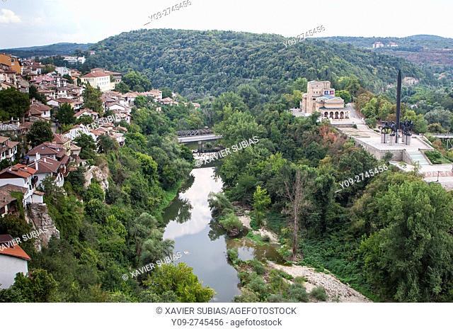 Boris Denev Art Gallery, Monument of the Asens and Stambolov's bridge, Veliko Tarnovo, Tarnovo, Bulgaria