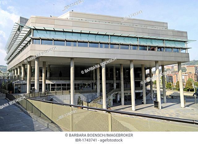 Palacio de Congresos y de la Musica Euskalduna, Convention Center and Music Hall, Bilbao, Bizkaia province, Pais Vasco, Basque Country, Spain, Europe