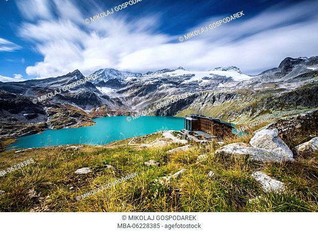 Austria, National Park Hohe Tauern, Salzburger Land, Berghotel Rudolfshuette, Uttendorf, Weißsee, Weißsee Glacier World