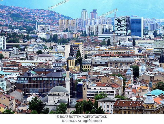 A view of Sarajevo.1015