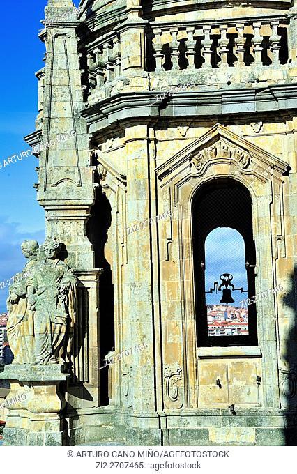 The Belfry. La Clerecía, XVII-XVIII centuries. Salamanca, Spain