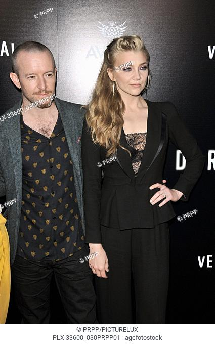 "Anthony Byrne and Natalie Dormer at the """"In Darkness"""" Los Angeles Premiere held at the ArcLight Hollywood in Los Angeles, CA on Wednesday, May 23, 2018"