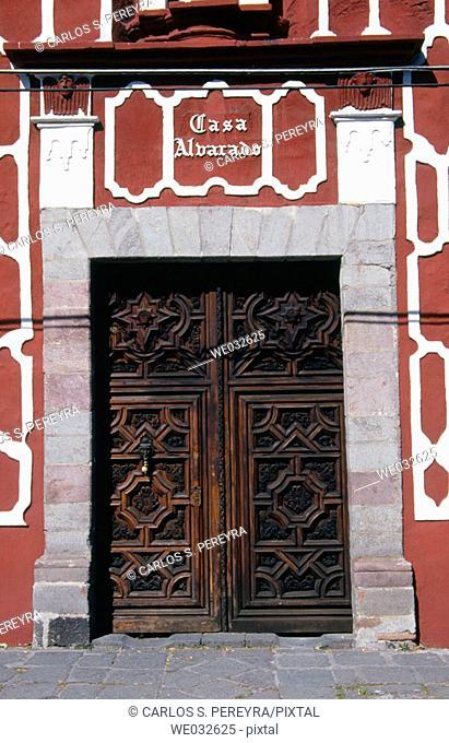 Casa Alvarado, Coyoacán. Mexico D.F., Mexico