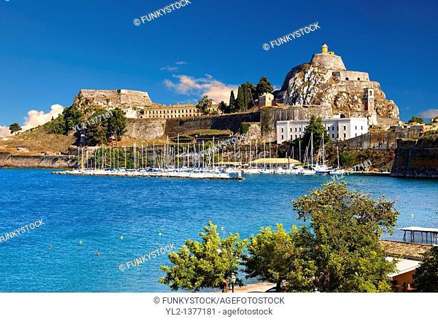 The old citadel  aa F  Corfu City, Greek Ionian Islands