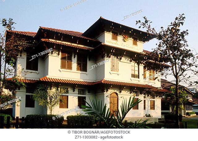 Laos, Vientiane, Embassy of Thailand
