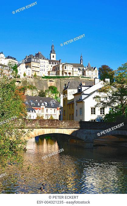 in Luxemburg Stadt Stadtteil Grund