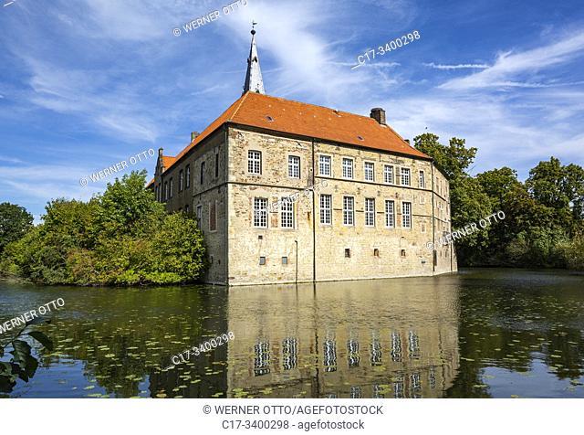 Luedinghausen, D-Luedinghausen, Stever, Muensterland, Westphalia, North Rhine-Westphalia, NRW, Castle Luedinghausen, moated castle, Middle Ages