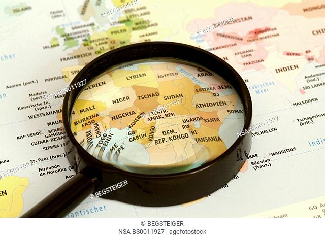 Africa under loupe