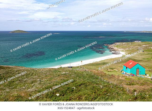 Eriskay island, Western Isles or Outer Hebrides -Na h-Eileanan an lar-, Scotland