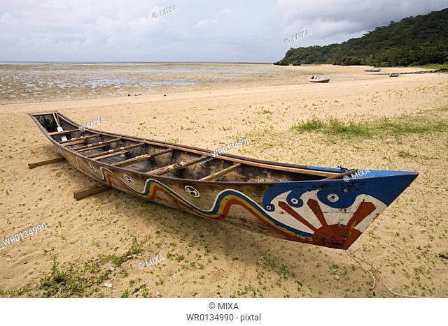 Fishing boat in Okinawa Prefecture, Japan