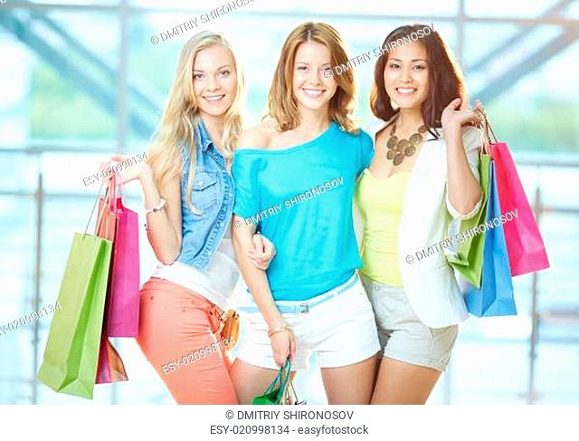 Company of shoppers