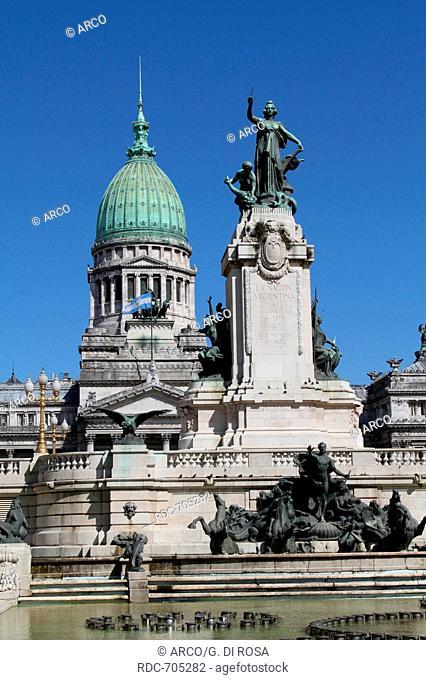 National Congres, Buenos Aires, Argentina