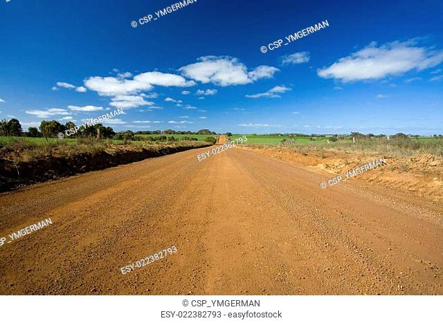 Unsealed road