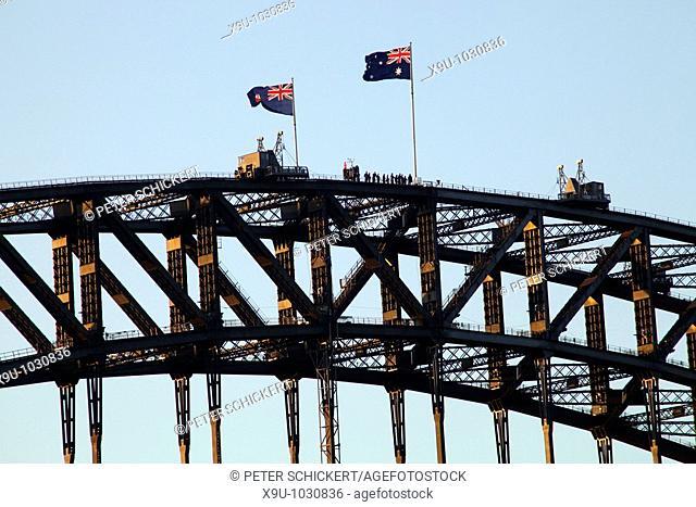 Sydney Harbour Bridge Climb in Sydney, New South Wales, Australia