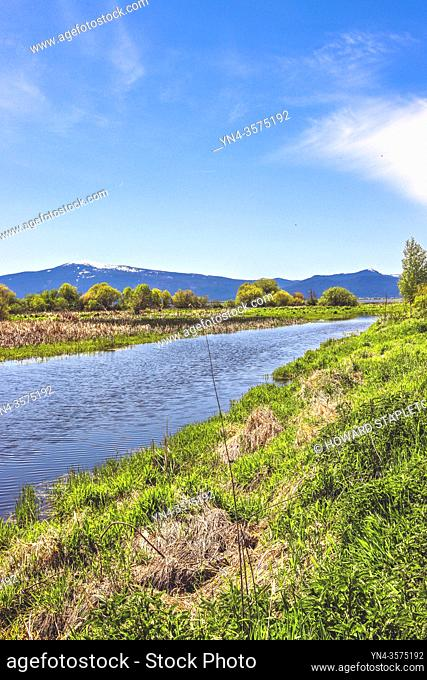 Wood River Wetland in Oregon