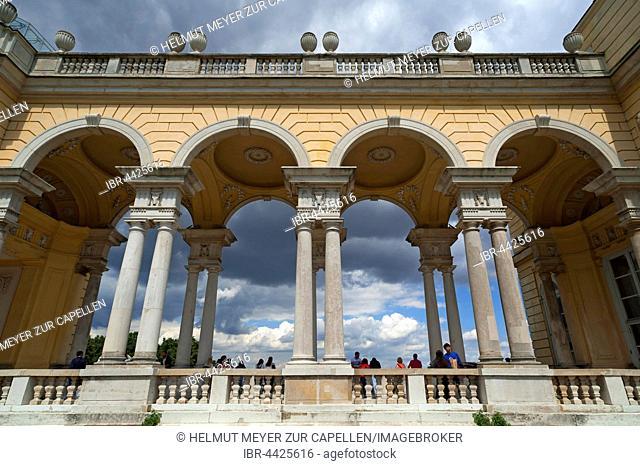 The Gloriette Aracde, Schönbrunn Palace, Schönbrunn, Vienna, Austria