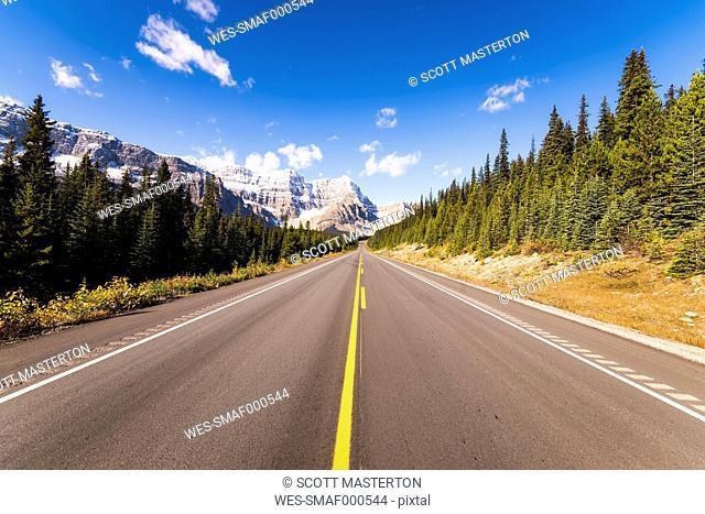 Canada, Alberta, Icefield Parkway