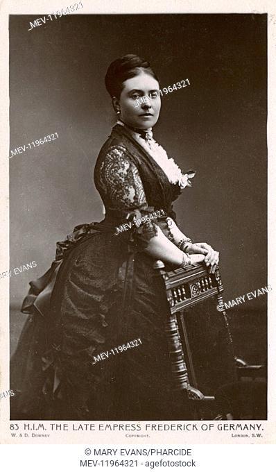 Princess Victoria, Empress of Germany and Queen of Prussia, eldest daughter of Queen Victoria