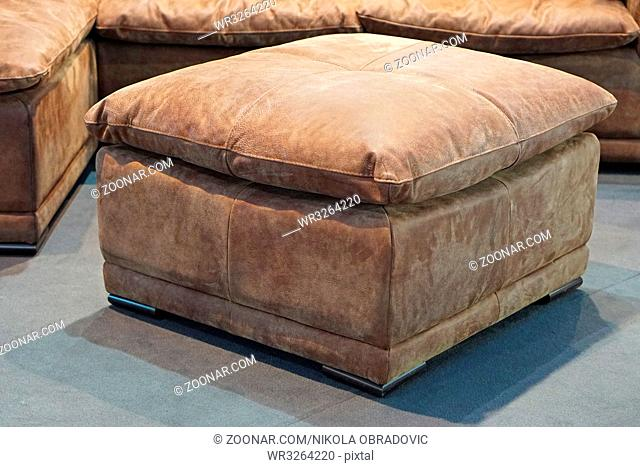 Fine Leather Sofa Footstool Stock Photos And Images Age Fotostock Gmtry Best Dining Table And Chair Ideas Images Gmtryco