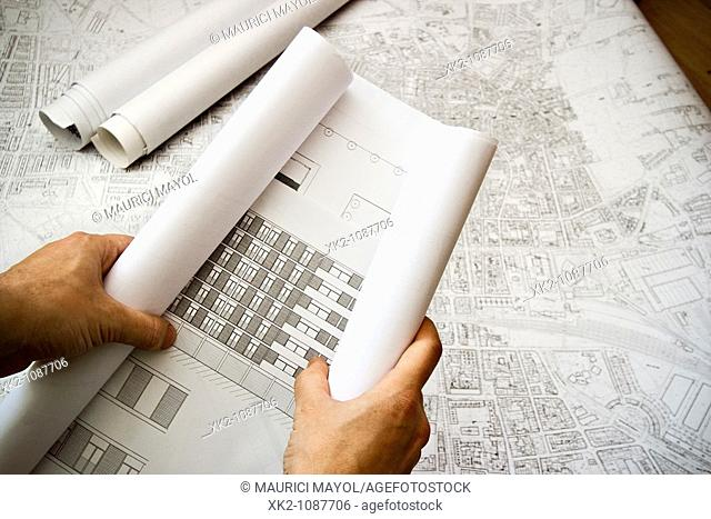 Unrolling the house blueprints