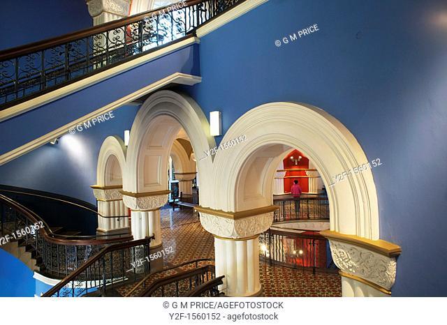 stairway in Queen Victoria Building, Sydney, Australia