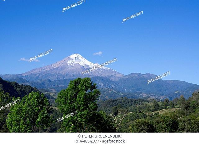 Pico Orizaba, highest in Mexico, 5747 meters, Mexico, North America