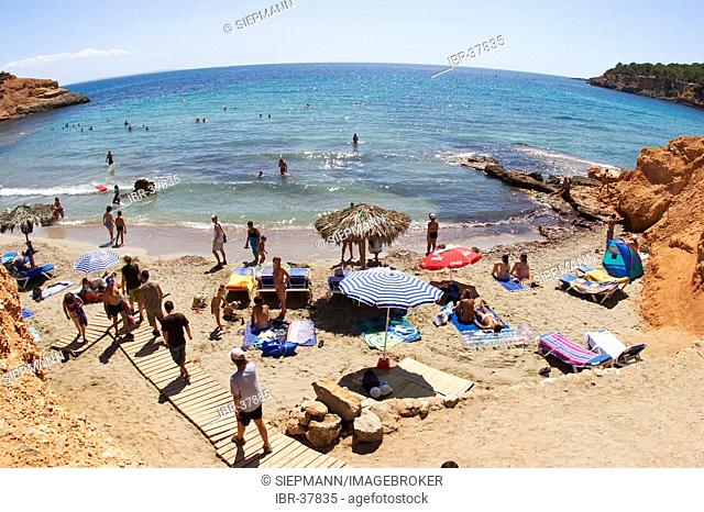 Beach Es Bol Nou on Ibiza