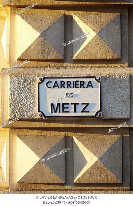 Rue de Metz. Toulouse. Haute Garonne. France