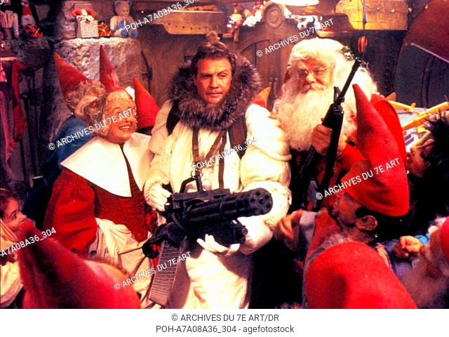 Fantomes en fete Scrooged  Year: 1988 -  Lee Majors  Director: Richard Donner. WARNING: It is forbidden to reproduce the photograph out of context of the...