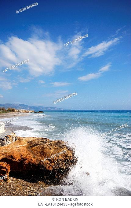 Torrox Costa is one of the many seaside resorts along the Costa del Sol