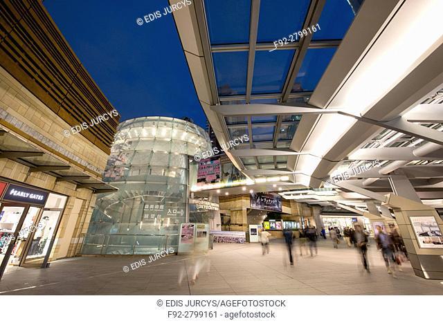 Roppongi Center. Tokyo