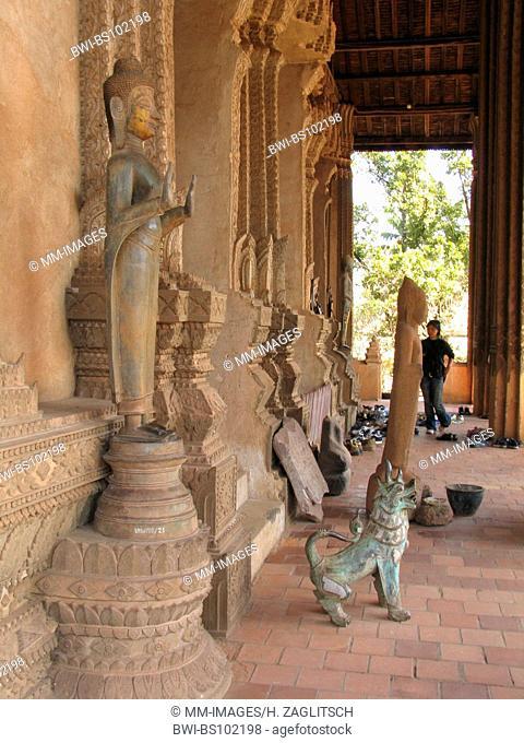 Wat Ha Pha Keo temple, Laos, Vientiane