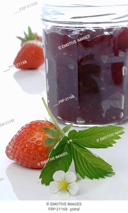 Strawberry and jam