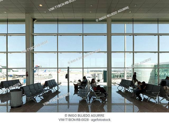 INTERIOR DETAILED VIEW OF WINDOW OF MAIN PASSENGER TERMINAL BUILDING