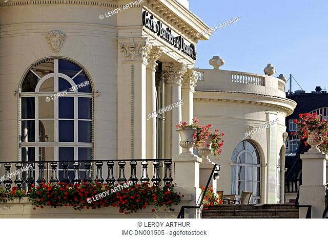 France, Normandy, Deauville, the casino