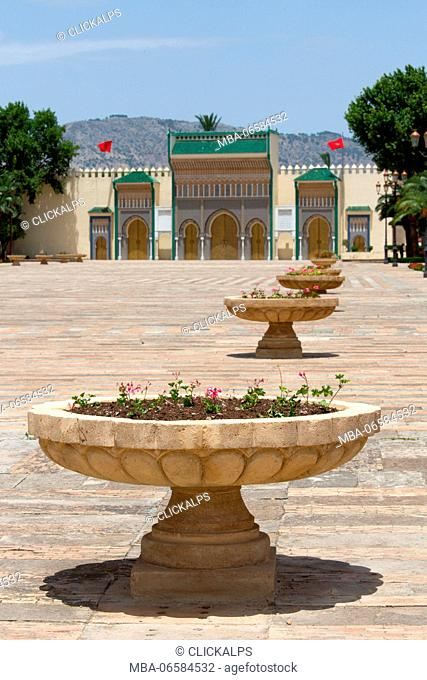 North Africa, Morocco, Fes district, Royal Palace
