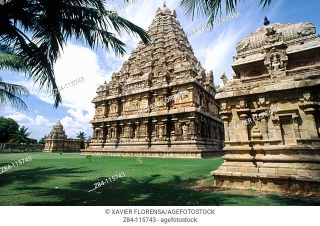 Temple of Gangaikondacholisvara. Gangaikonda Cholapuram. Tamil Nadu, India